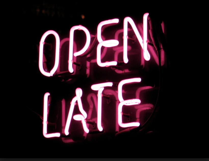 Fast Food Restaurants Open Late