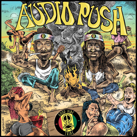 audio push good vibe tribe
