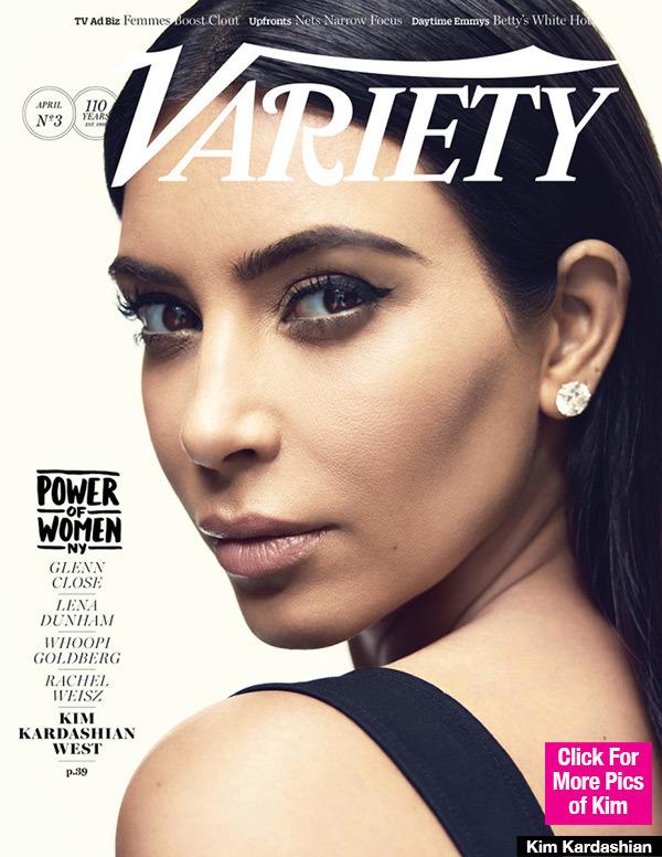 kim kardashian variety cover lead