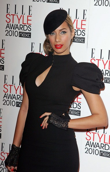 leona lewis outfits with fingerless gloves for 2014-f47208