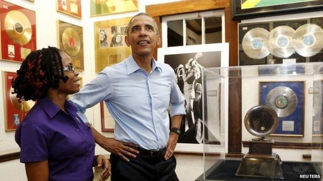 obama jamaica