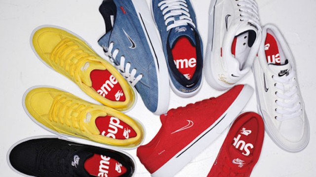 sale retailer 830da b8750 Preview Of The Supreme x Nike SB GTS Collection Released