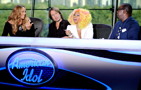 Mariah Carey, Keith Urban, Nicki Minaj and Randy Jackson of American Idol | Hip Hop News, Music and Culture | The Source