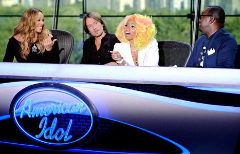 Mariah Carey, Keith Urban, Nicki Minaj and Randy Jackson of American Idol | Hip Hop News, Music and Culture | The Source