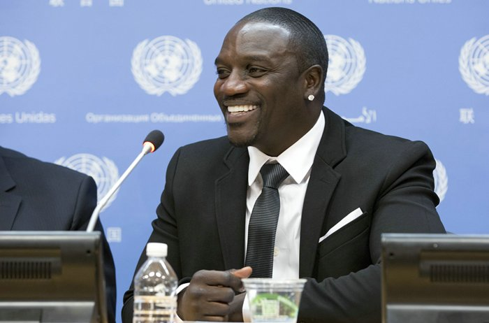 Akon press conference on Sustainable Energy for All