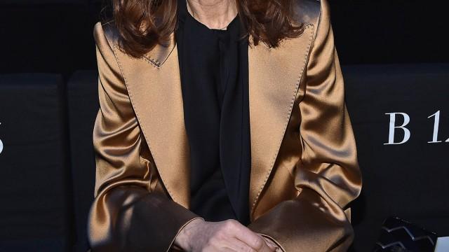 Giorgio Armani 40th Anniversary - Fashion Show At Armani Teatro - Arrivals & Front Row