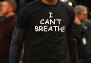"Lebron ""I can't breathe shirts"