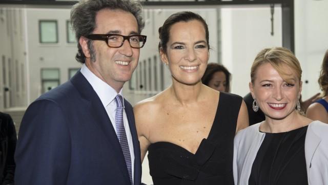 Paolo Sorrentino, Roberta Armani and Daniela Sorrentino