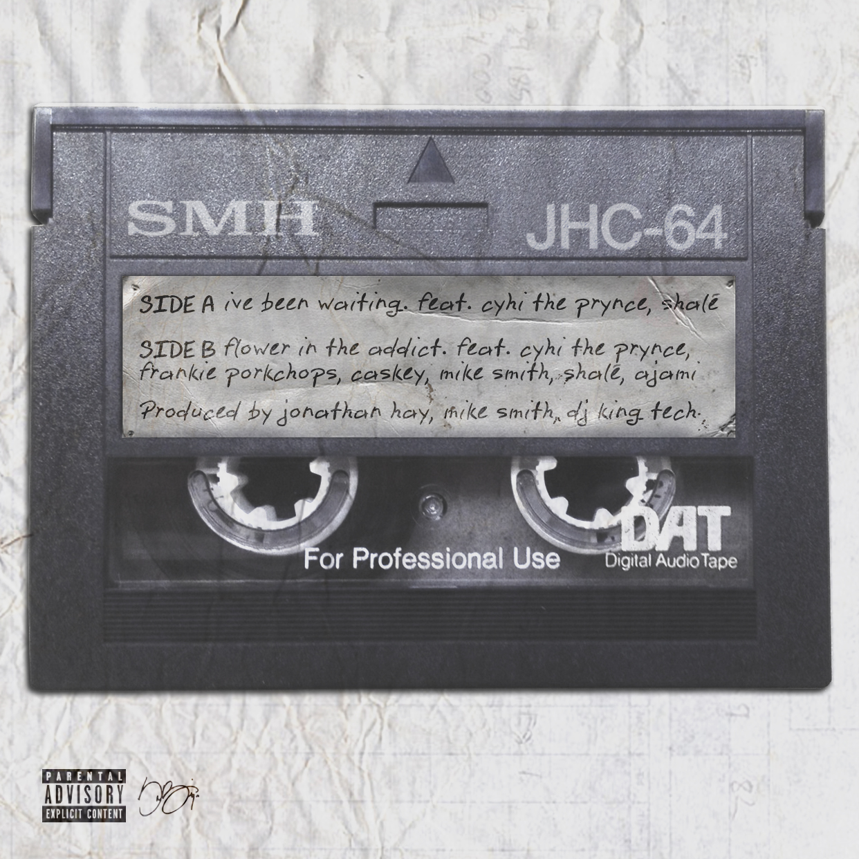 The DAT Tape singles Ive Been Waiting Flower In The Attic by Cyhi the Prynce Shalé Jonathan Hay Mike Smith King Tech Fra