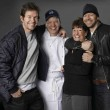 Wahlburgers_Mark, Paul, Alma and Donnie Wahlberg _Photo by Zach Dilgard