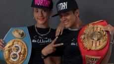 World Champion Boxers Serrano Sisters
