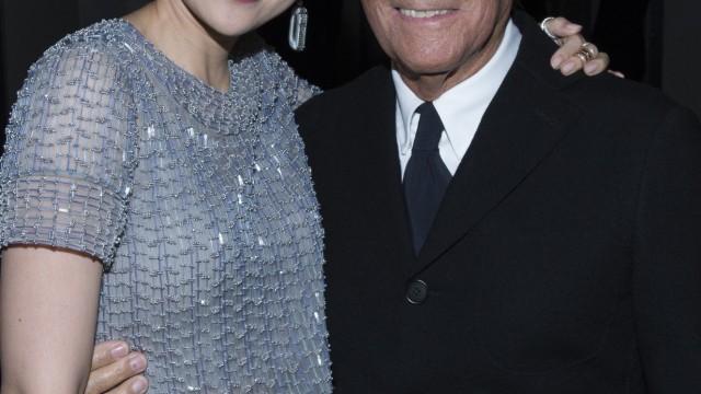 Zhang Ziyi and Giorgio Armani