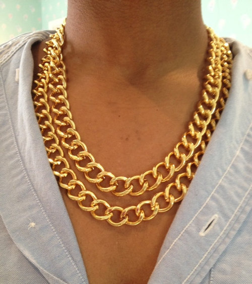 chunky-double-gold-necklace