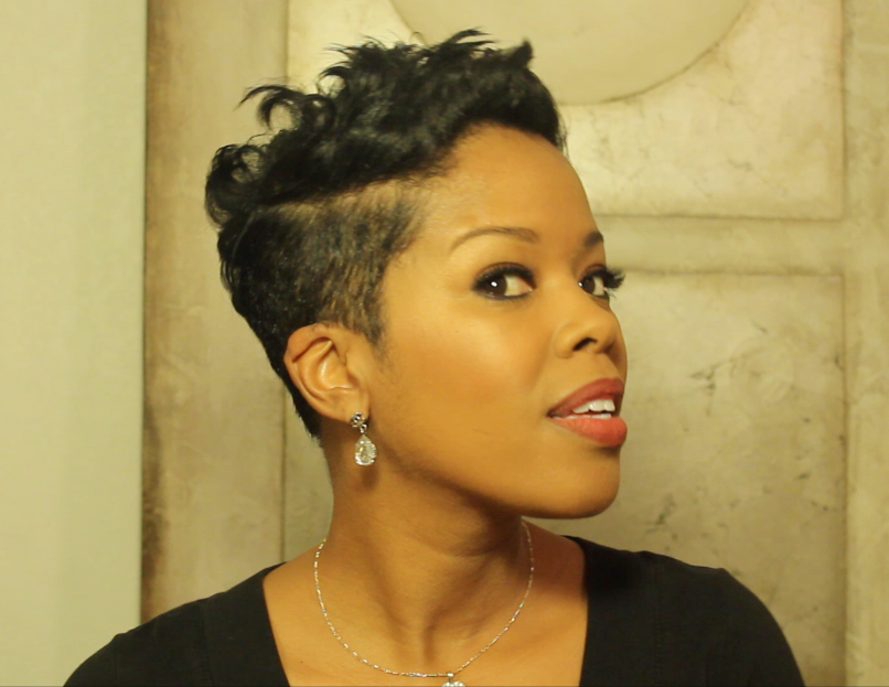 malinda williams pixie cut