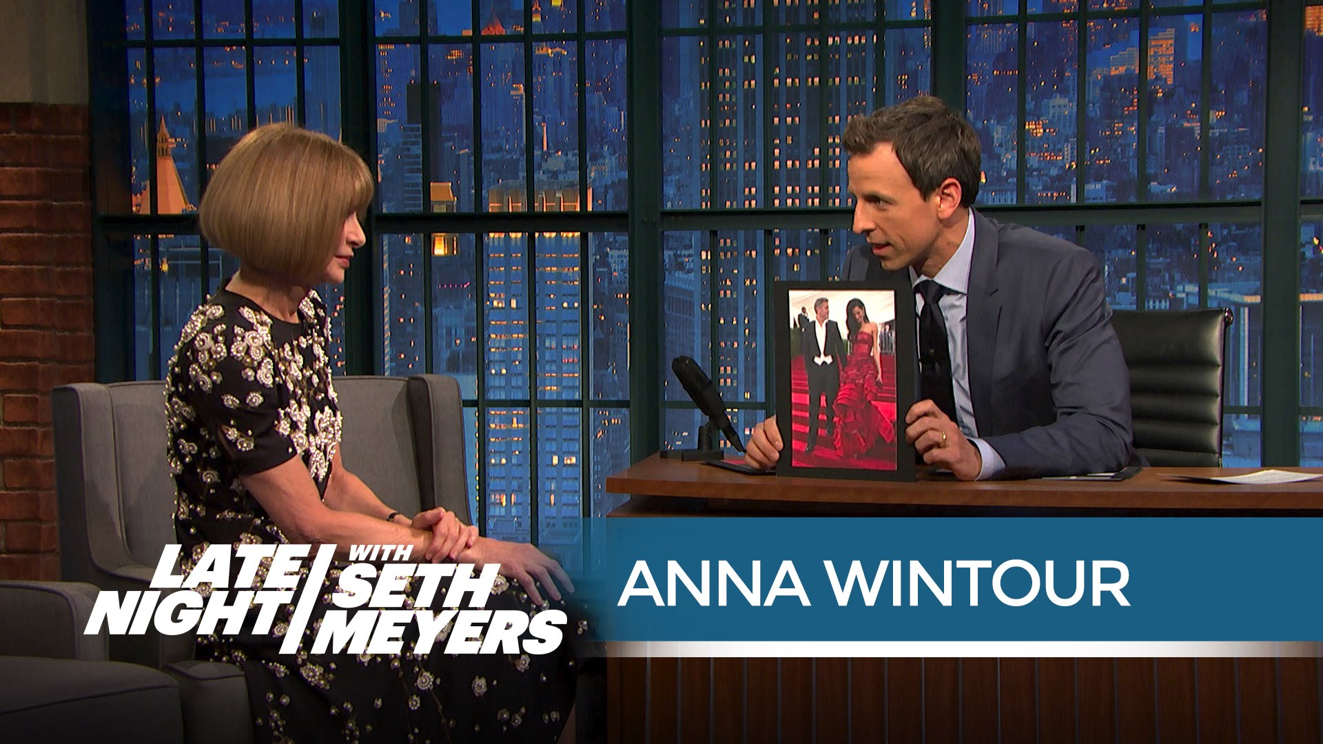 Anna Wintour on Late Night With Seth Myers | Hip Hop News, Music and Culture | The Source