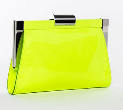 michael-kors-neon-clutch