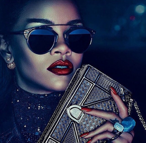 Rihanna Posing for Dior Campaign | Hip Hop News, Music and Culture | The Source