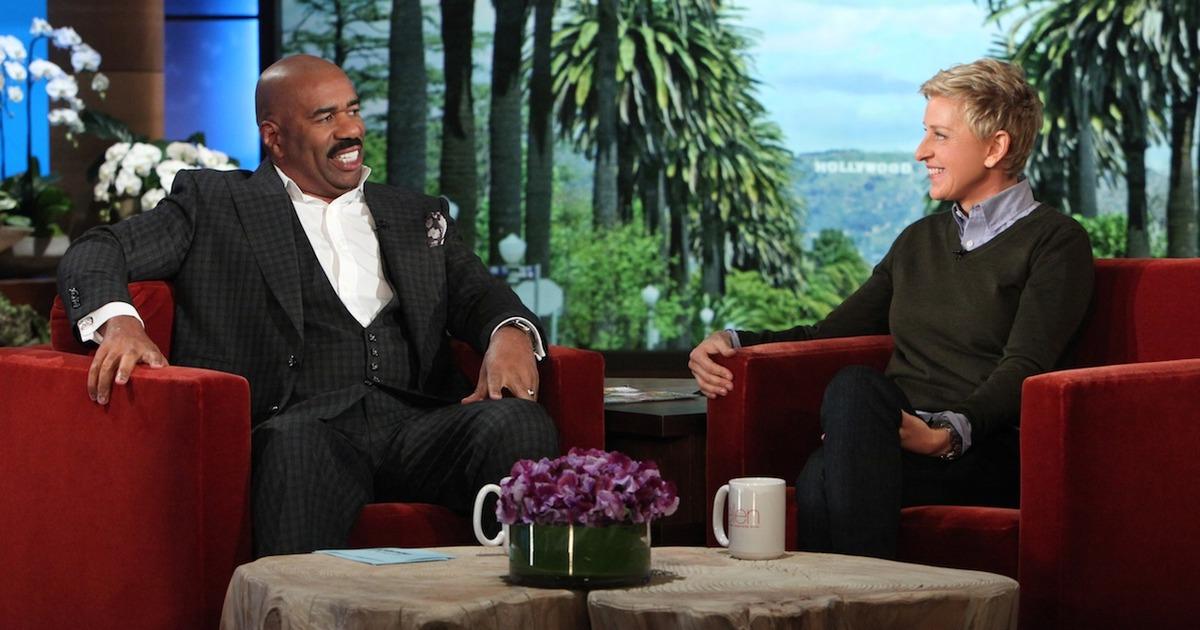 Steve Harvey on Ellen DeGeneres | Hip Hop News, Music and Culture | The Source