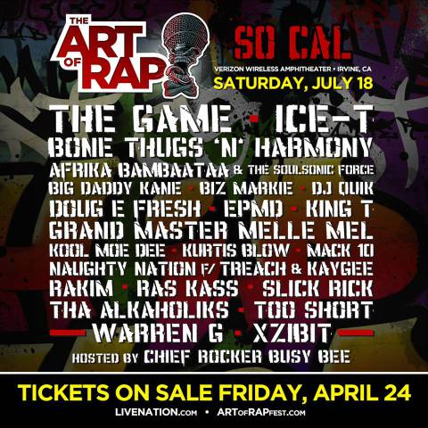 the art of rap st flyer n