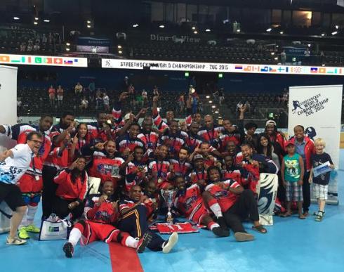 Haitian Street Hockey Champions