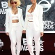 """These two definitely was turning heads, creating shade and making noise. Blac Chyna and Amber Rose's all white twinning outfits to me just could've been played better, for my two """"Bad"""" ladies which I adore, no shade here."""