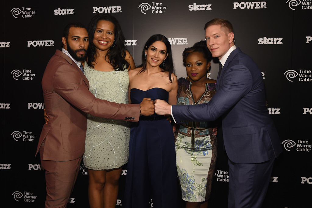 Power S Premiere Omari Hardwick Courtney Kemp Agboh Lela Loren Naturi Naughton and Joseph Sikora