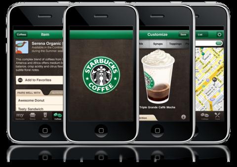 Starbucks App feature better
