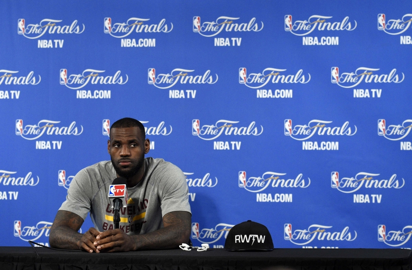 LeBron James is Brutally Honest During Post-Game Interview ...