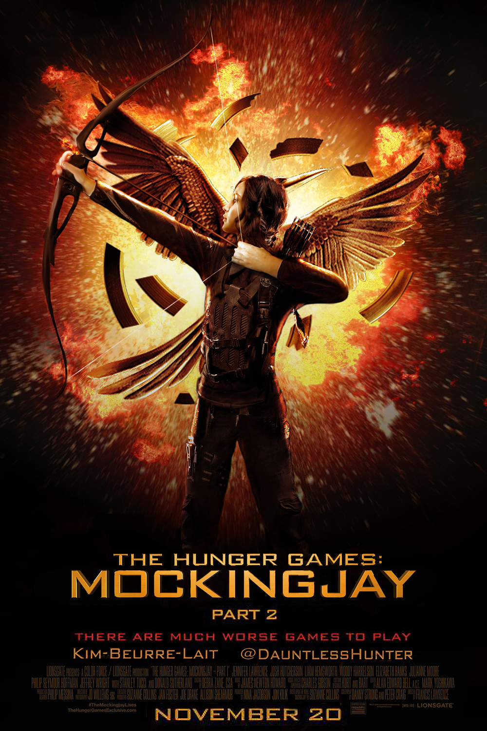 First look at the hunger games mockingjay part 2 the source