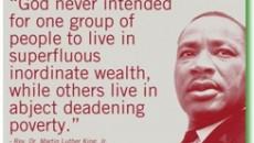 Dr King Message Banner