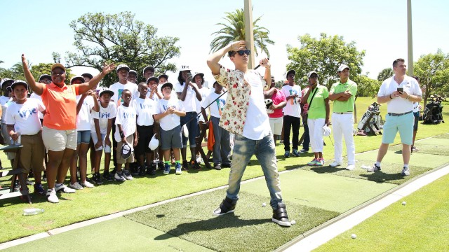 #InspIrie Golf Clinic - Austin Mahone