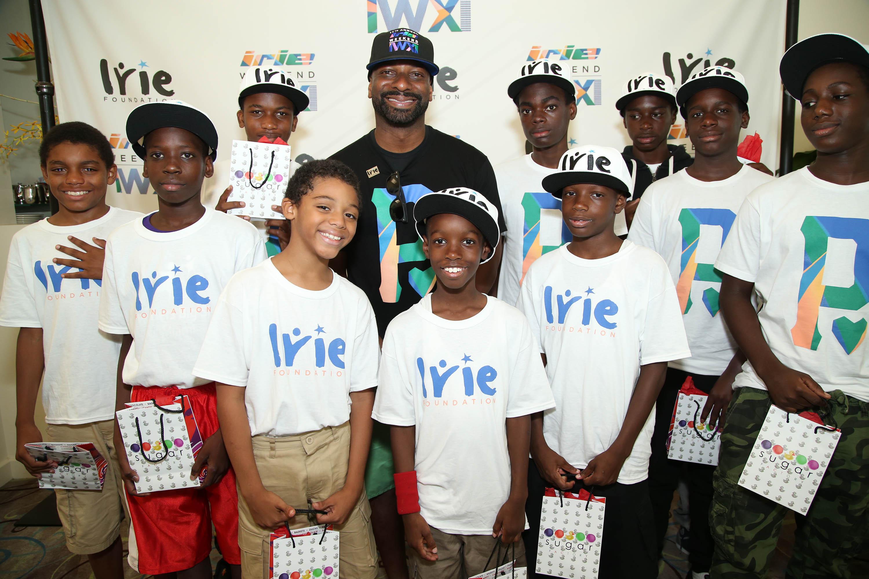 InspIrie Golf Clinic DJ IRIE with IRIE Foundation Kids