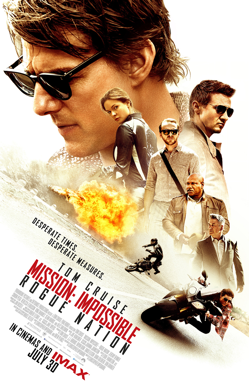 Mission Impossible Rogue Nation IMAX Poster