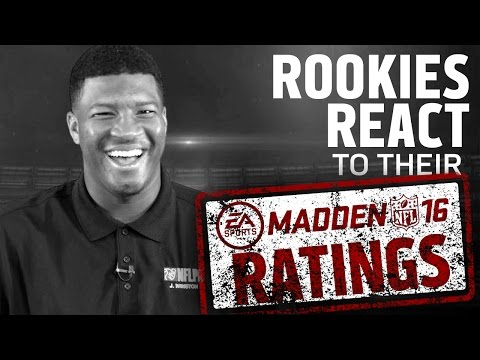 NFL Rookies Madden Rating The Source