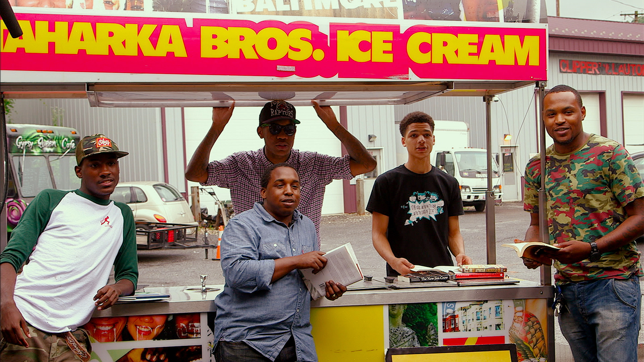 full Devon Brown and Mike Prokop  Co Founders of Taharka Brothers Ice Cream featured subjects in A DREAM PREFERRED  Photo courtesy of Tribeca Digital Studios