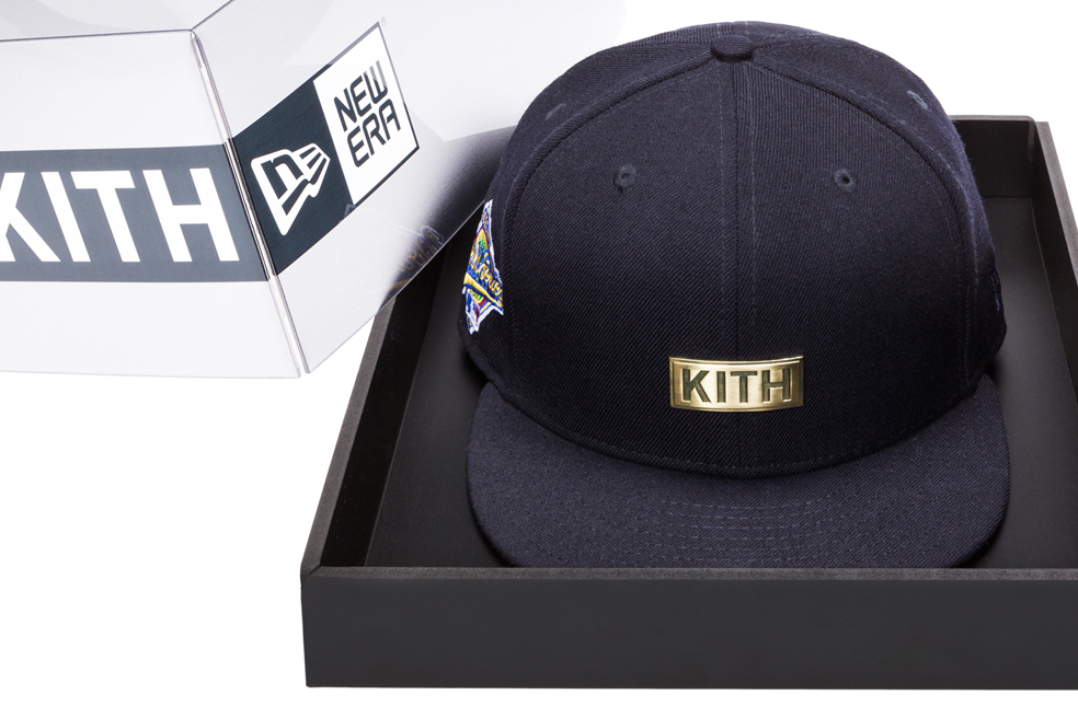 "d77c1ec12f6 KITH pays homage to the New York Yankees with ""World Series"" 59FIFTY Fitted"