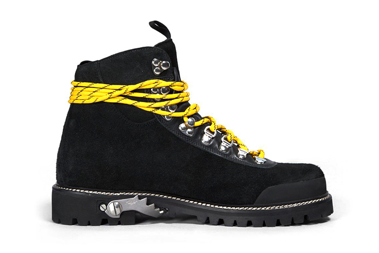 off white c o virgil abloh  fall winter black boots