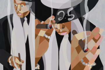 Shawn Carter [JAY-Z]; Derrick Adams [artist]. Heir to the Throne, 2021
