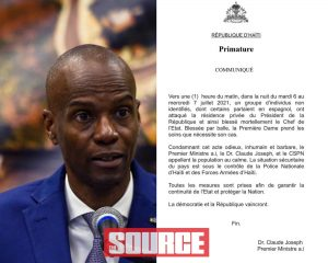 Haiti President Assassinated The Source
