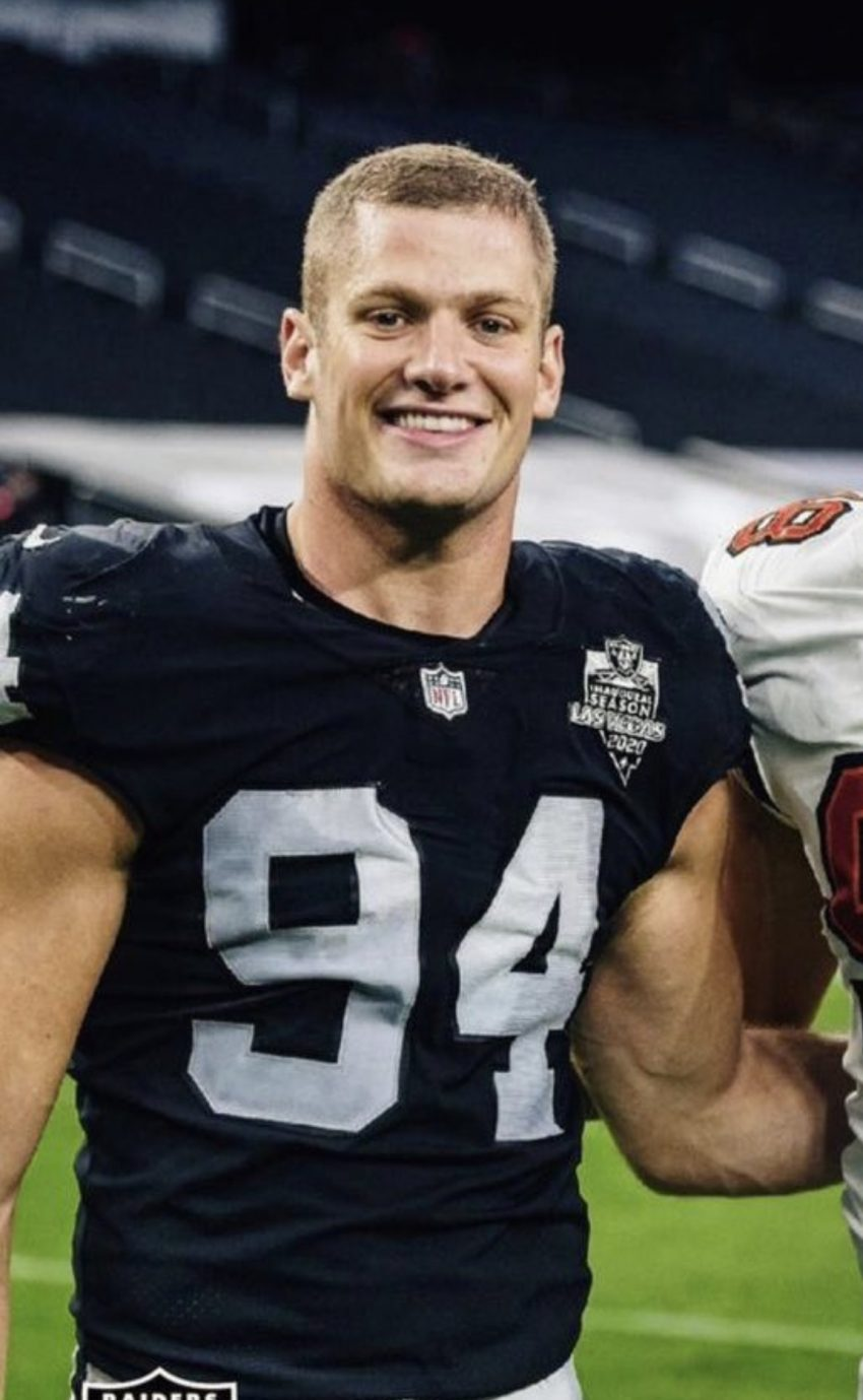 Raiders' Carl Nassib becomes NFL's first openly gay player
