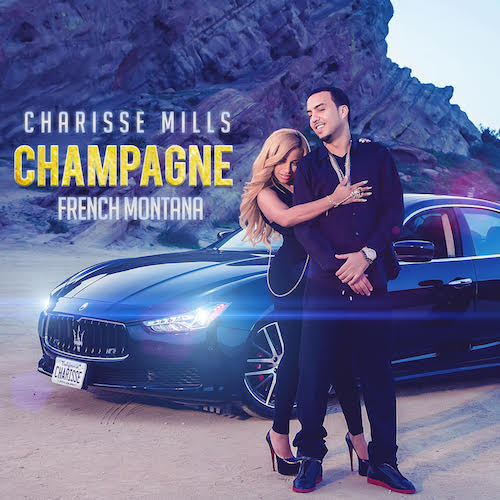 Charisse Mills French Montana Champagne