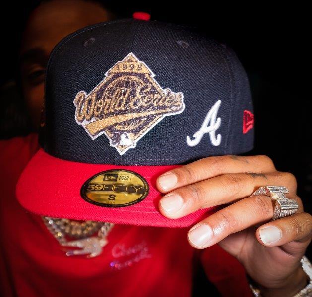 Quavo Debuts Exclusive, Special Edition Atlanta Braves Cap with Lids