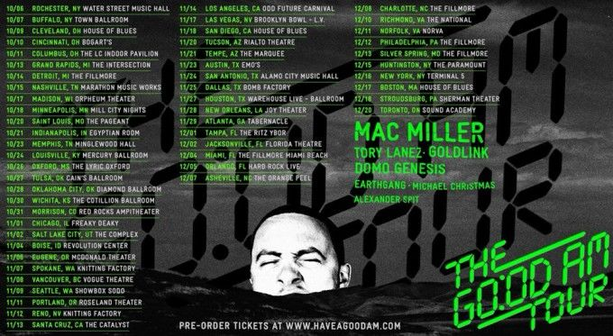 mac miller tour good am