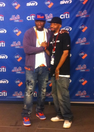 Randy Fisher 50 Cent CitiField