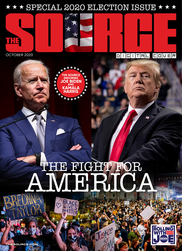 Exclusive: The SOURCE Endorses Joe Biden and Kamala Harris in New Digital Cover Story