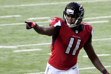 Julio Jones Will Not Report to Atlanta Falcons Training Camp