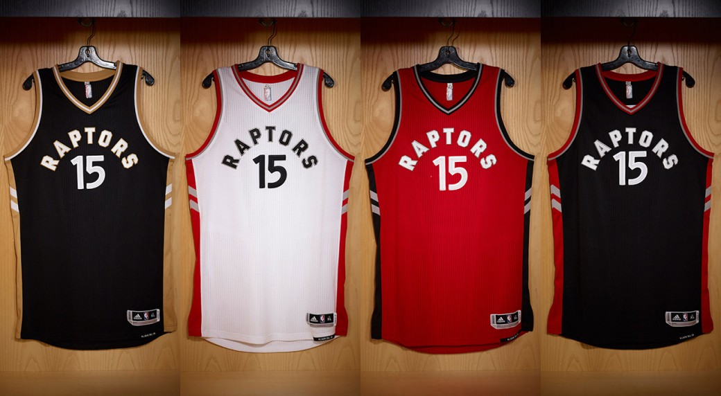 b4c28186f51 Toronto Raptors Unveils New Uniform For The 2015-2016 NBA Season ...