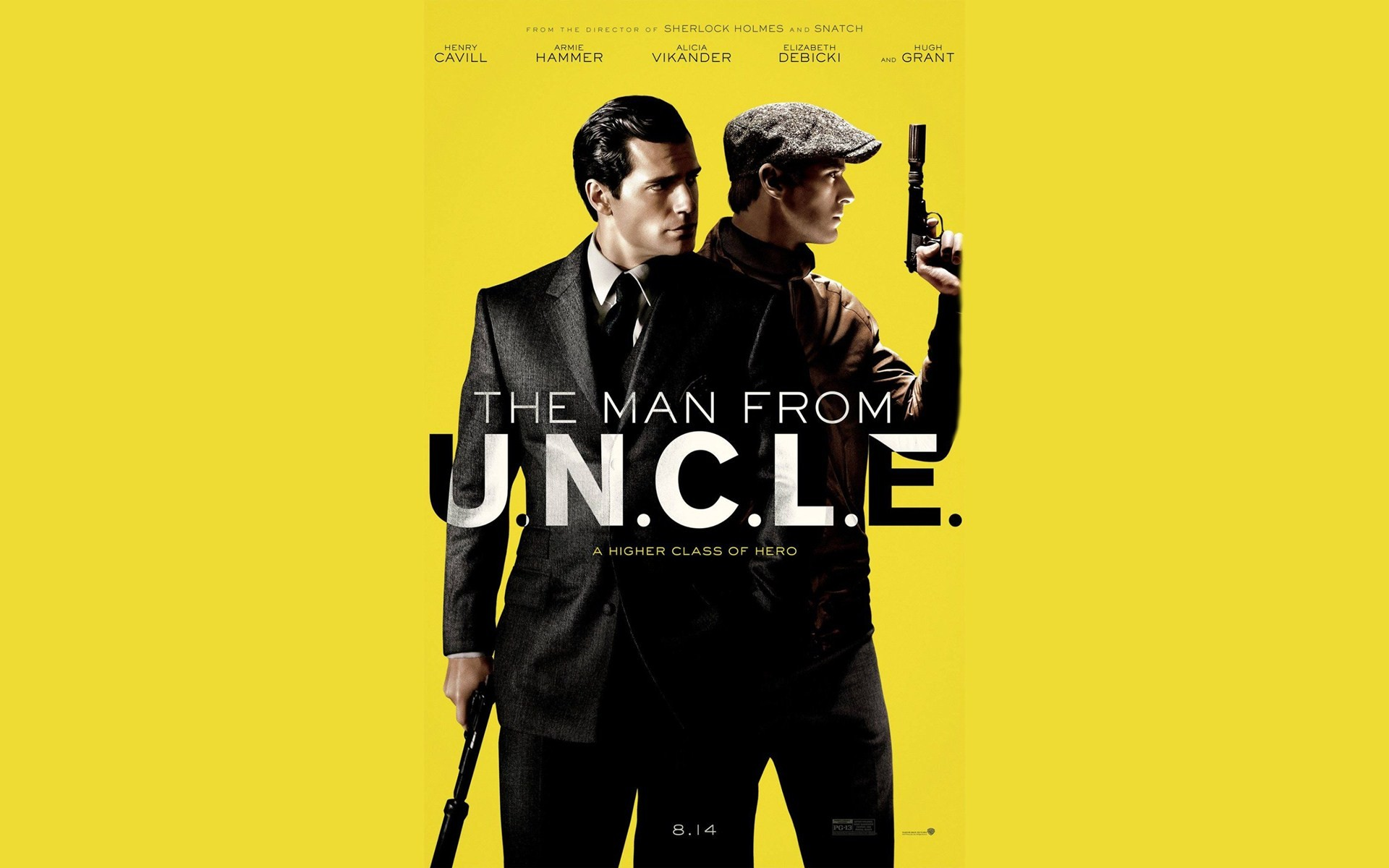 the man from u n c l e  poster wallpapers