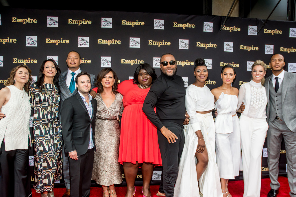 Empire-cast-at-Saks-Fifth-Ave