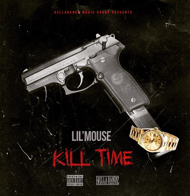 """Lil Mouse's """"Kill Time"""" cover art"""
